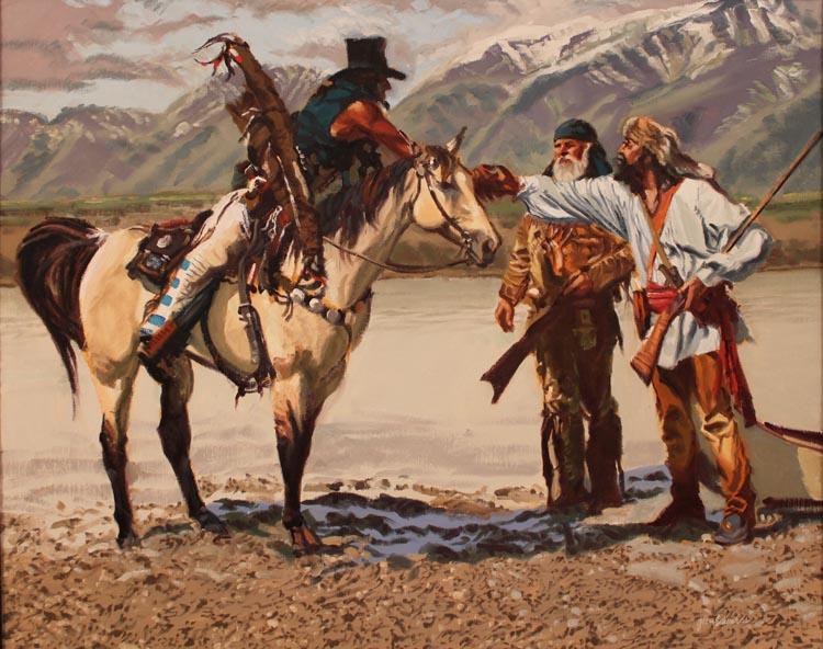 A NEW WORK- Crossing... by  Glen Edwards - Masterpiece Online