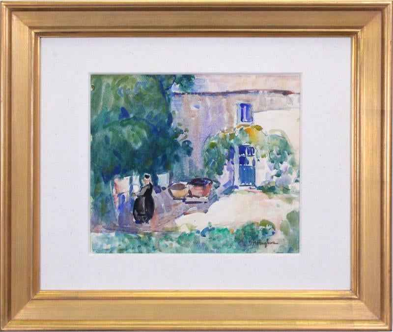 Sunny Day in Brittany by  Daisy Marguerite Hughes - Masterpiece Online