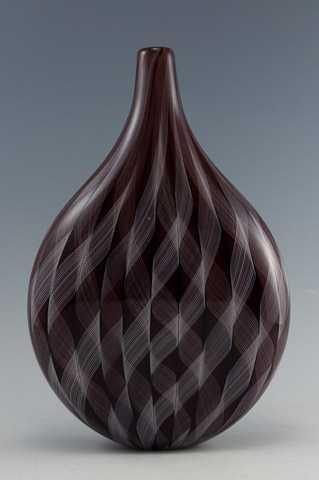 Red Lattice Bottle Fl... by  Brian Becher - Masterpiece Online