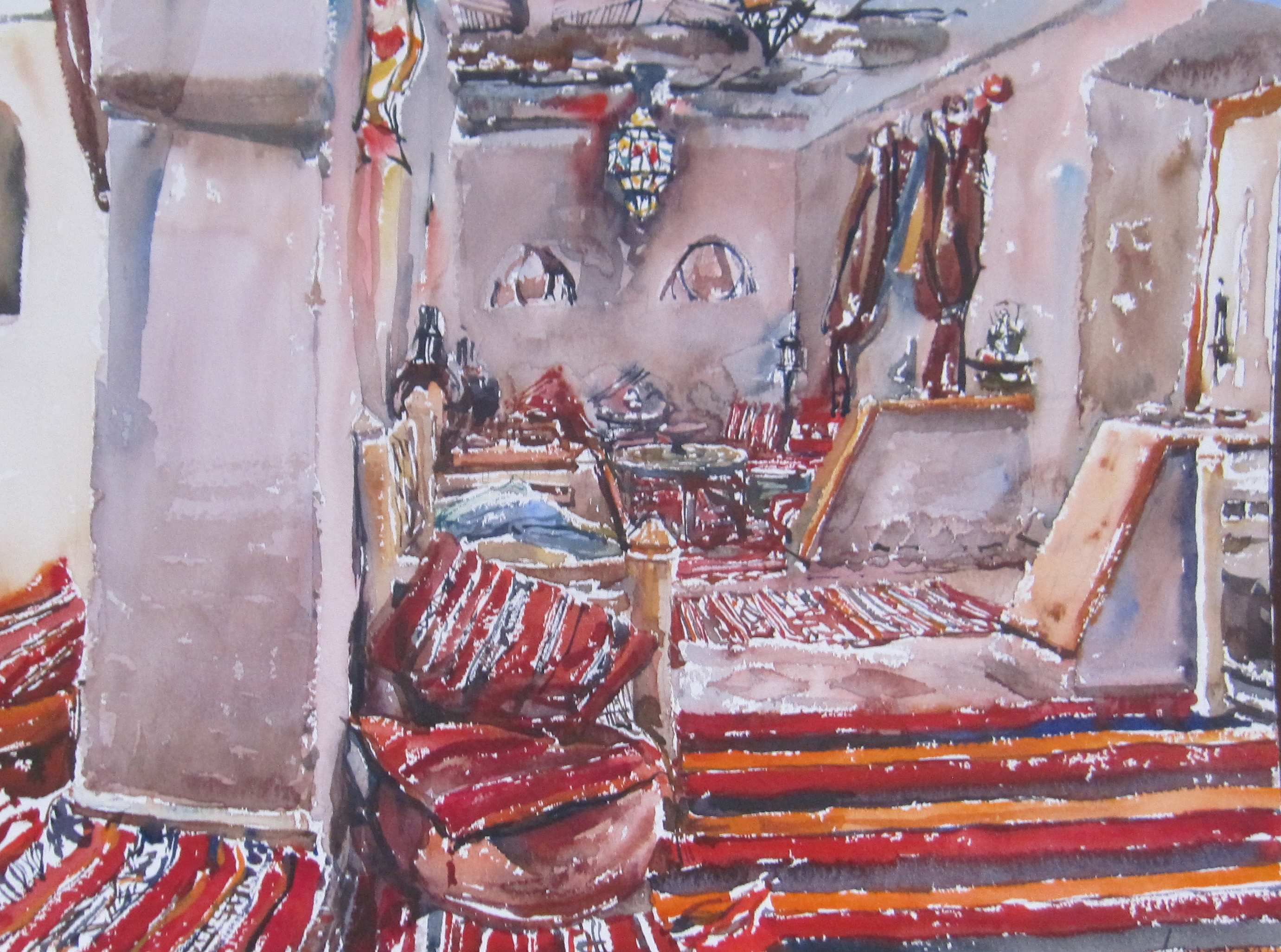 Moroccan Interior, Da... by  Daud Akhriev - Masterpiece Online