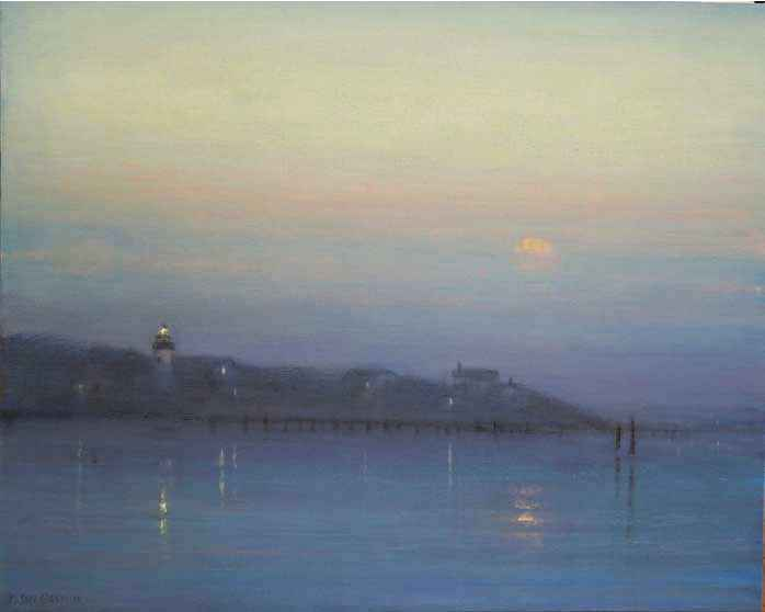 West Chop at Twilight by  Mary Sipp Green - Masterpiece Online
