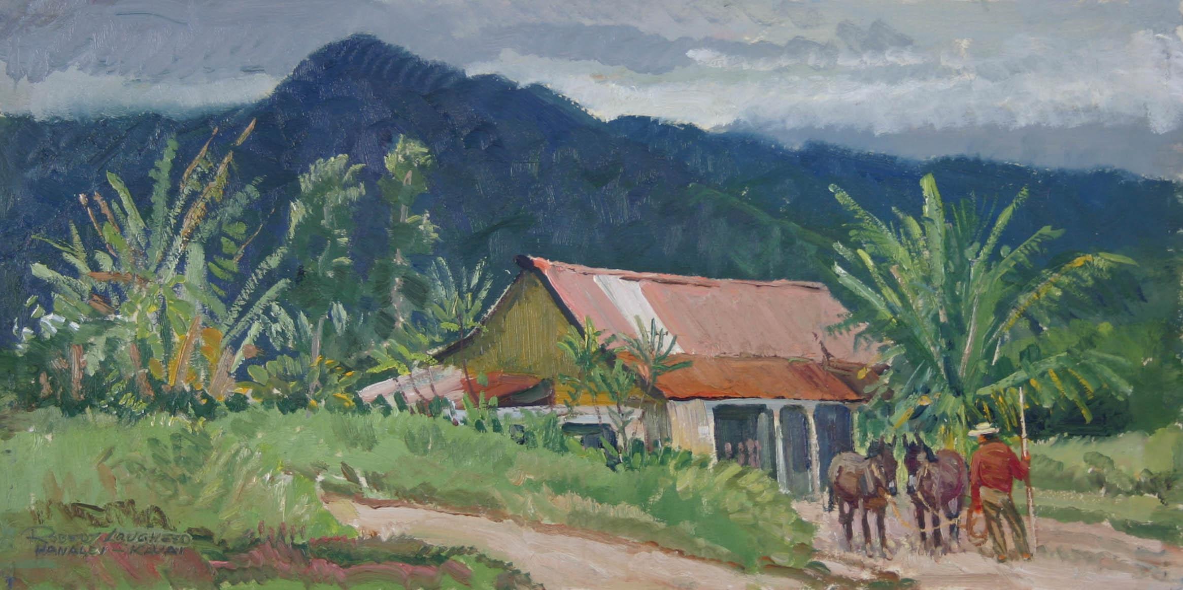Hanalei Bay, Kauai by  Robert Lougheed - Masterpiece Online