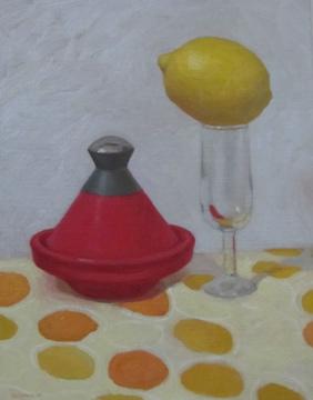 Red Tagine by  Melissa Hefferlin - Masterpiece Online