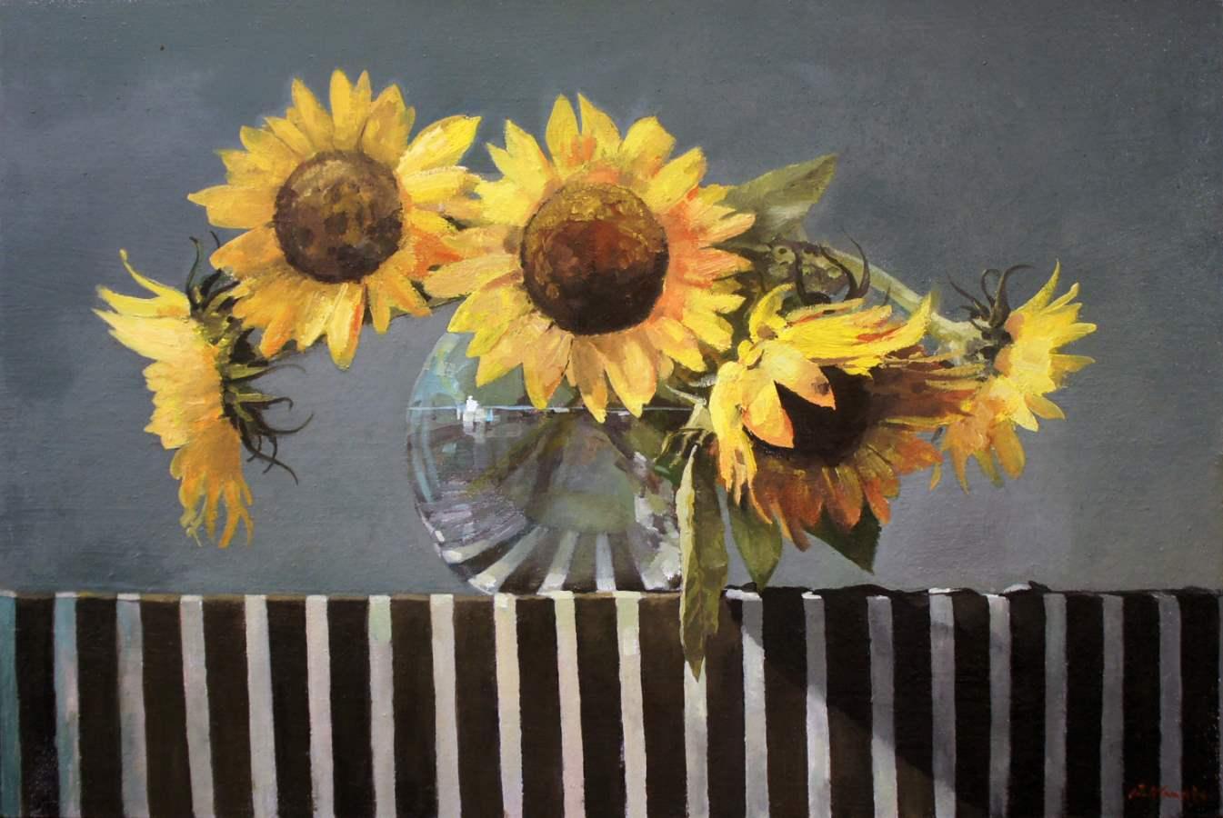 Summer Stripes by  Paul Hamilton - Masterpiece Online