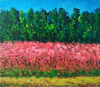 Fruit Trees in Bloom by  Andres  Morillo - Masterpiece Online