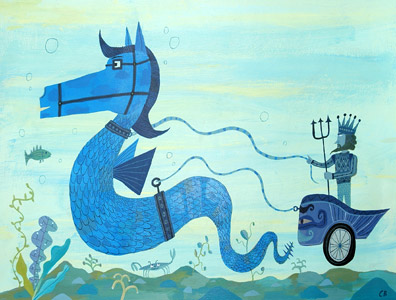 Hippocamp by  Calef Brown - Masterpiece Online