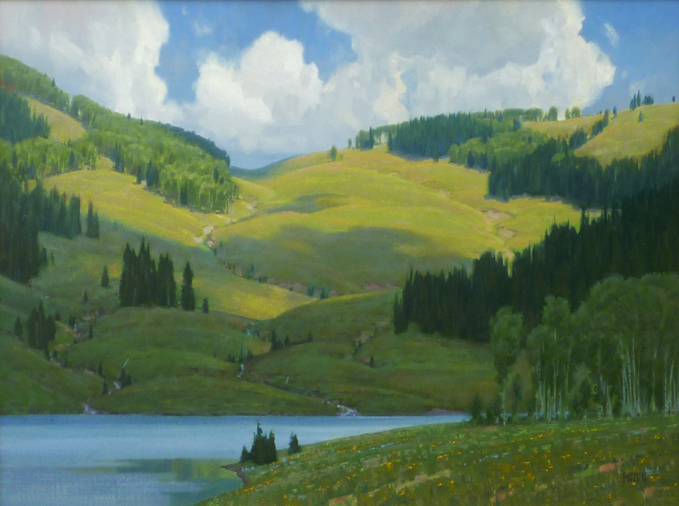 Summer Tapestry (RS) by Mr. Wayne Wolfe - Masterpiece Online
