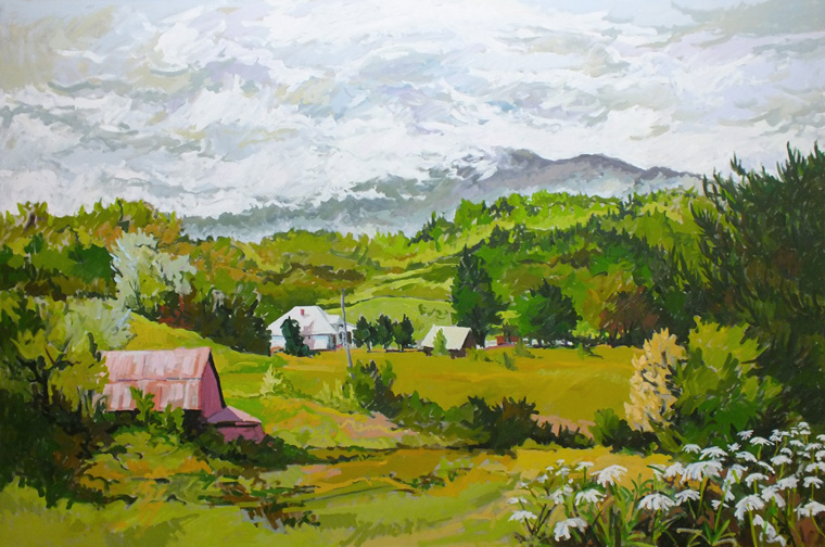 Mountain Farm #4 by  Joseph Cave - Masterpiece Online