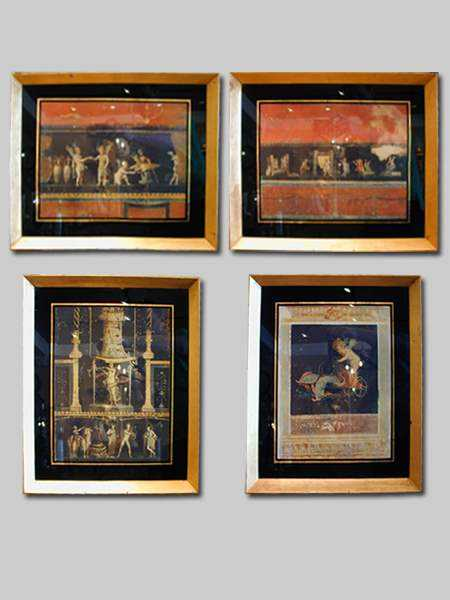 Set of Four Framed Pr... by  Italian  - Masterpiece Online
