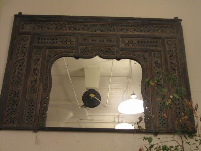Javanese Teak Mirror by    - Masterpiece Online