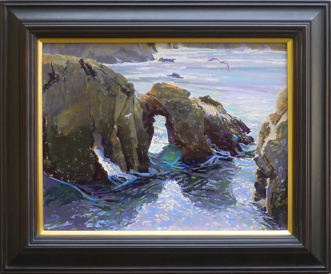 Arch at Point Lobos by  W. Truman Hosner - Masterpiece Online
