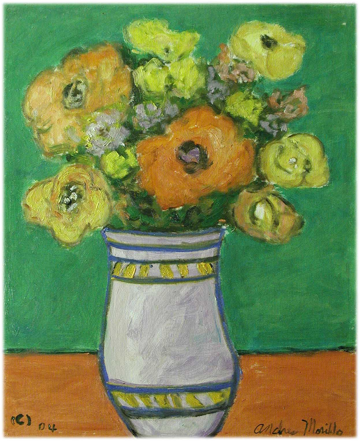 Vase with Peonies by  Andres  Morillo - Masterpiece Online