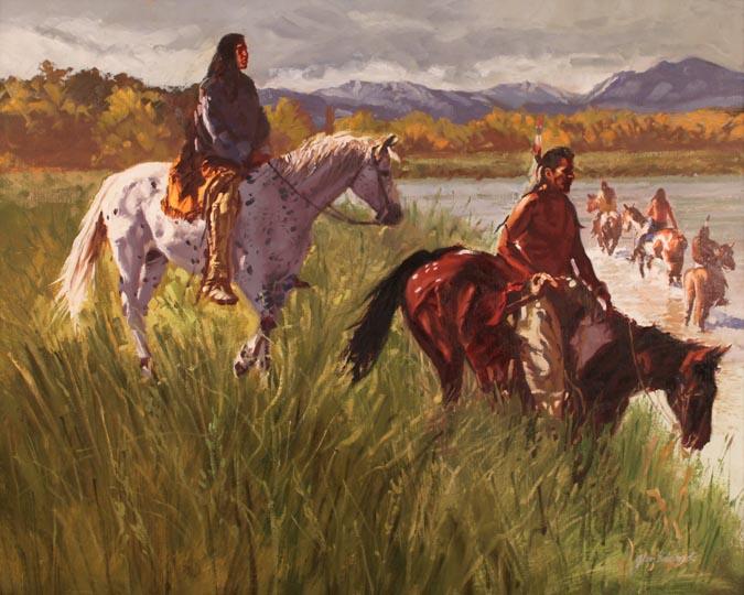 A NEW WORK- Lakota C... by  Glen Edwards - Masterpiece Online