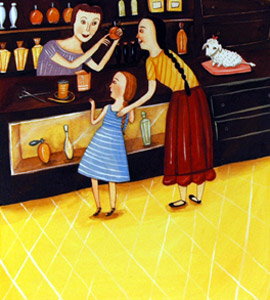 In Perfume Shop by  Giselle Potter - Masterpiece Online