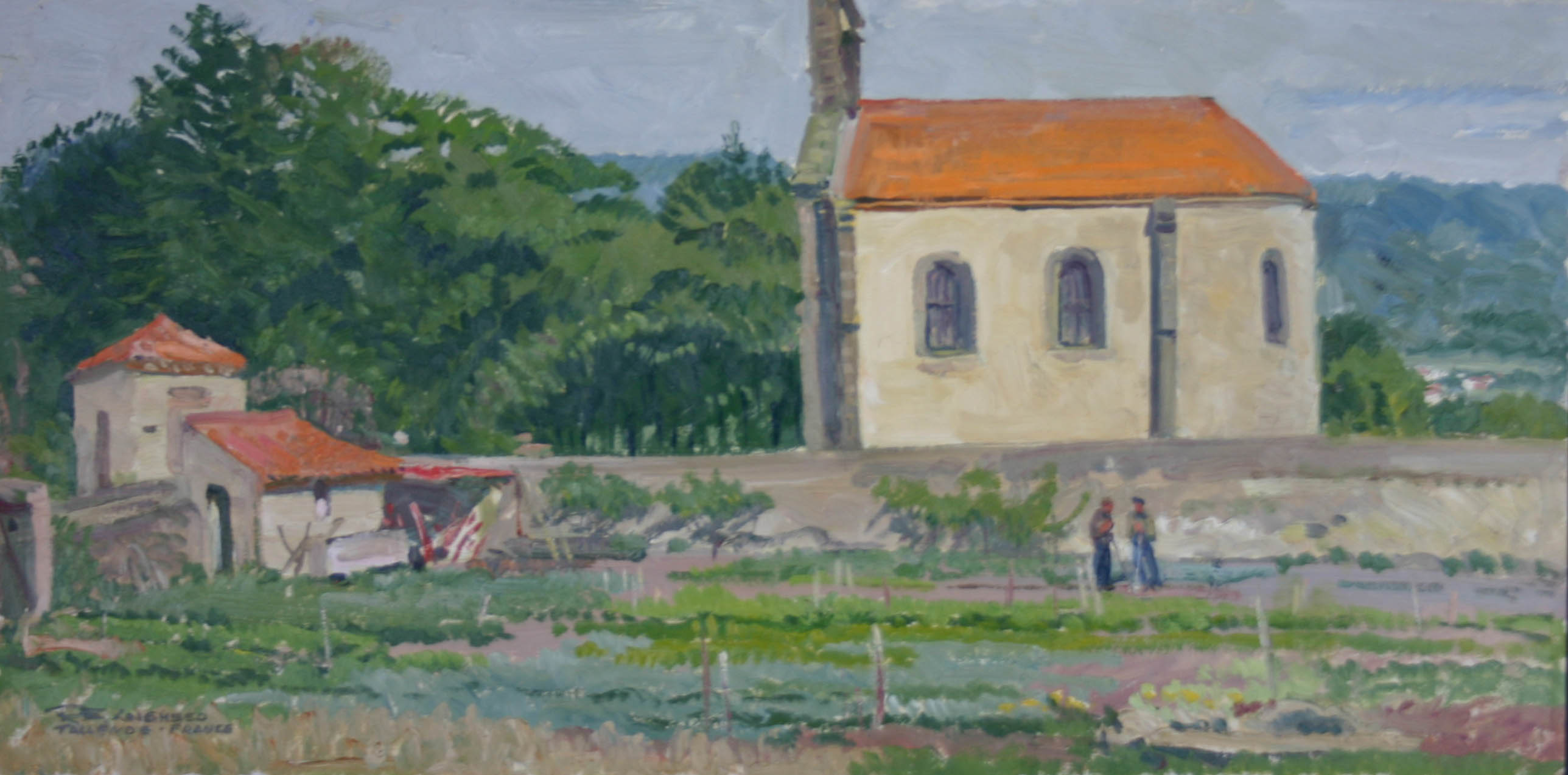 Tallende - France by  Robert Lougheed - Masterpiece Online
