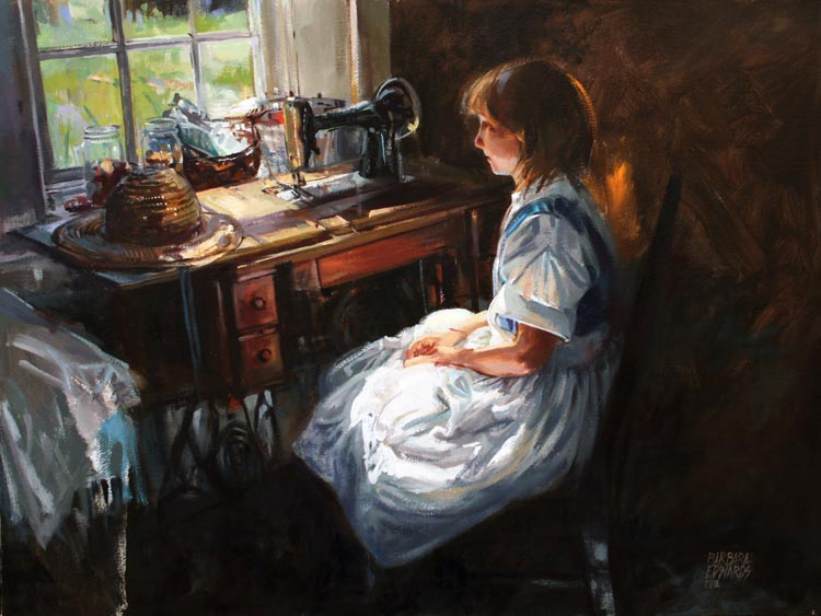 SOLD- Good Light by  Barbara Summers Edwards - Masterpiece Online