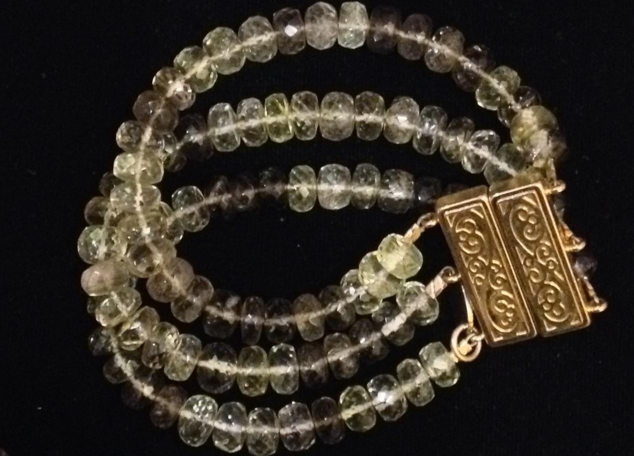 Smokey Citrine Bracel... by  Mary Fisher - Masterpiece Online