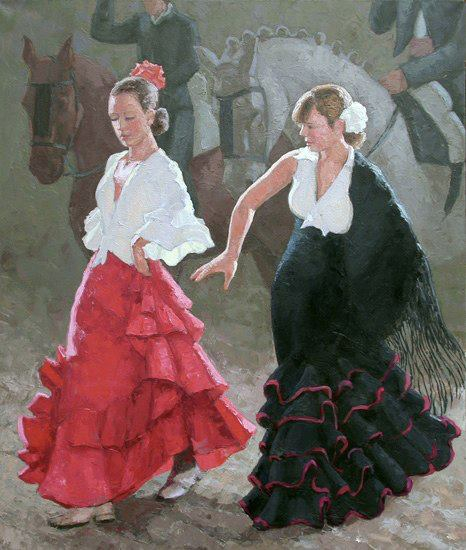 Spanish Quartet by  Melissa Hefferlin - Masterpiece Online