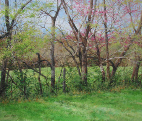 Overgrown Fenceline w... by  Michael Wheeler - Masterpiece Online