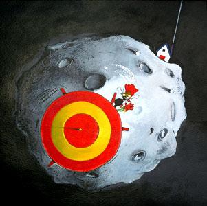 Monkey Flew Away by  John A. Rowe - Masterpiece Online
