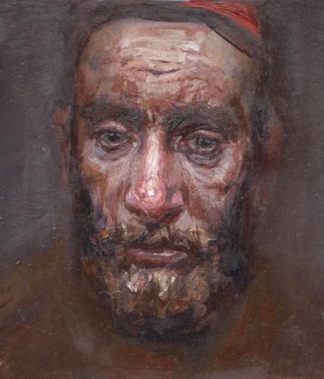 Portrait of an Old Man by  Daud Akhriev - Masterpiece Online