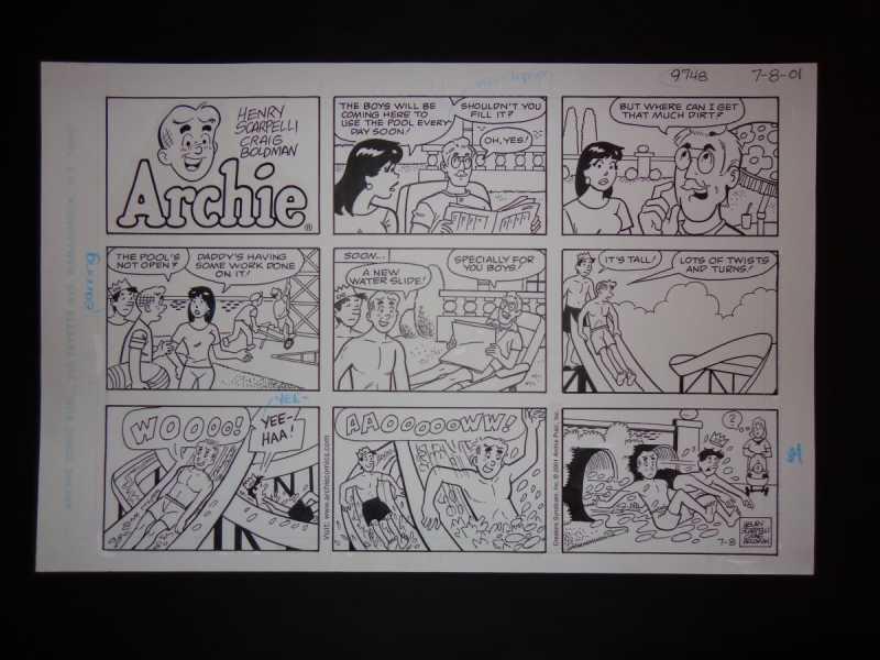 7-08-01    Archie Sun...  by  Henry Scarpelli