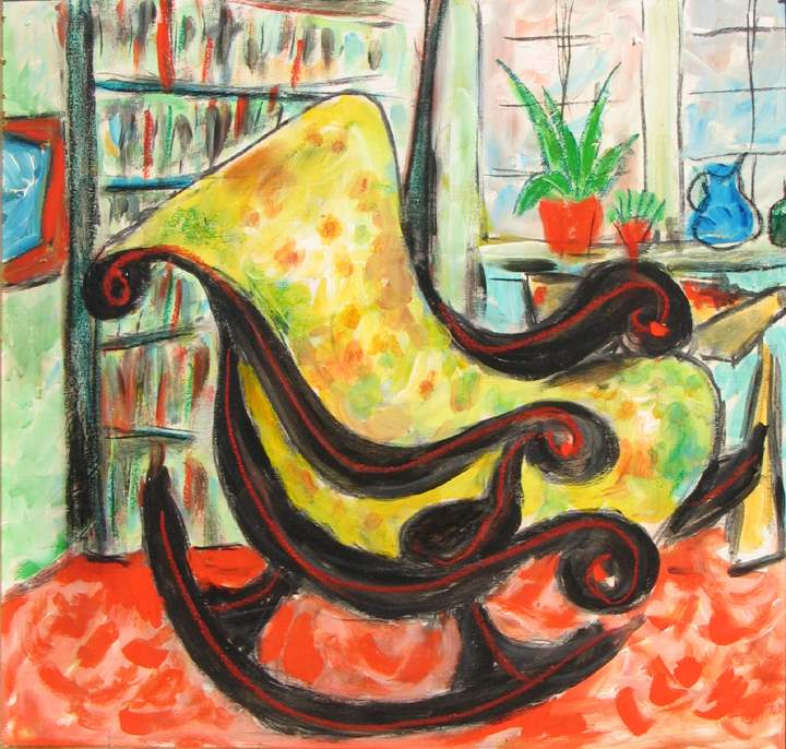 Yellow Chair by  Tom Maley - Masterpiece Online