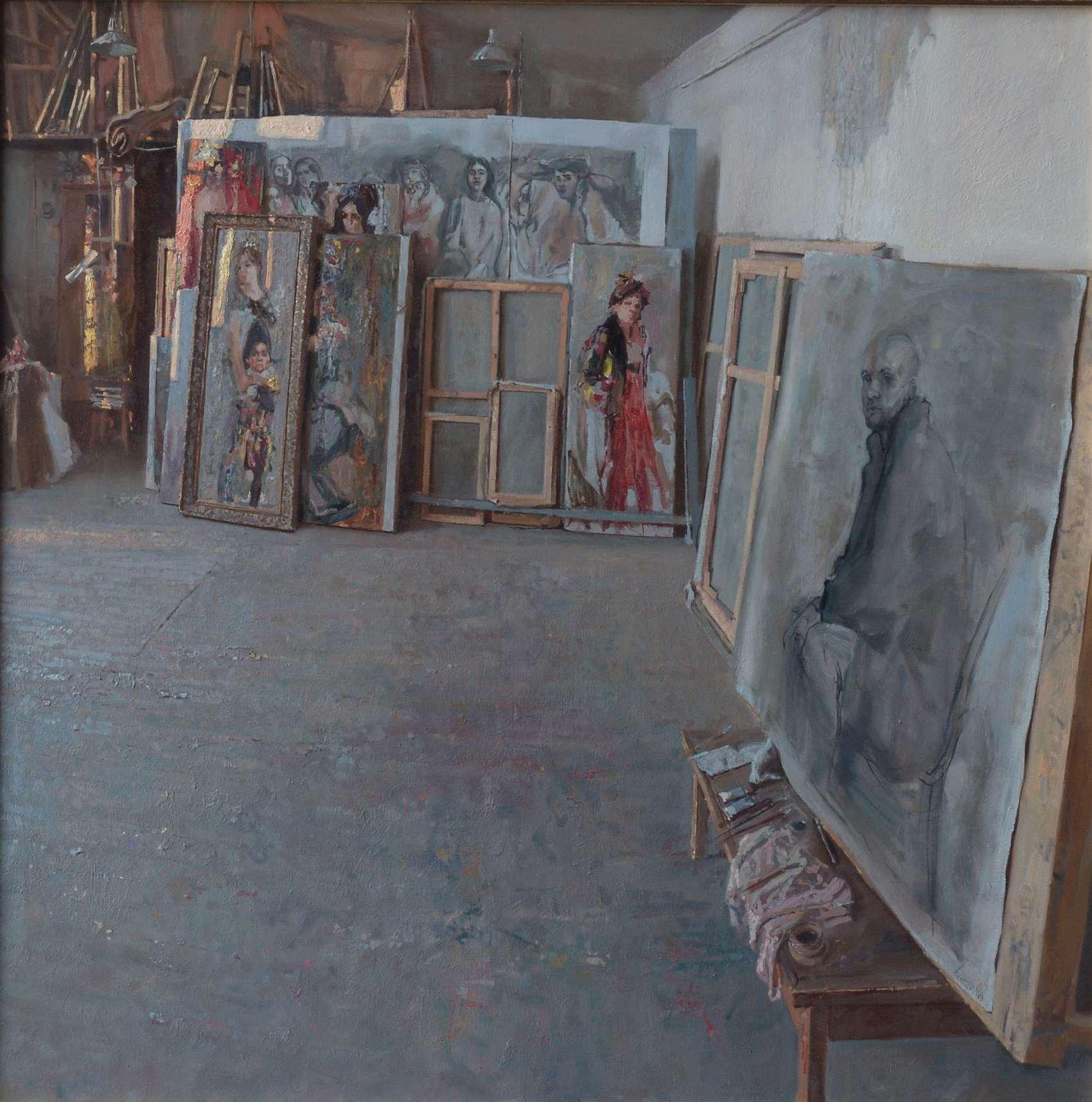 Blokhin's Studio by  Daud Akhriev - Masterpiece Online