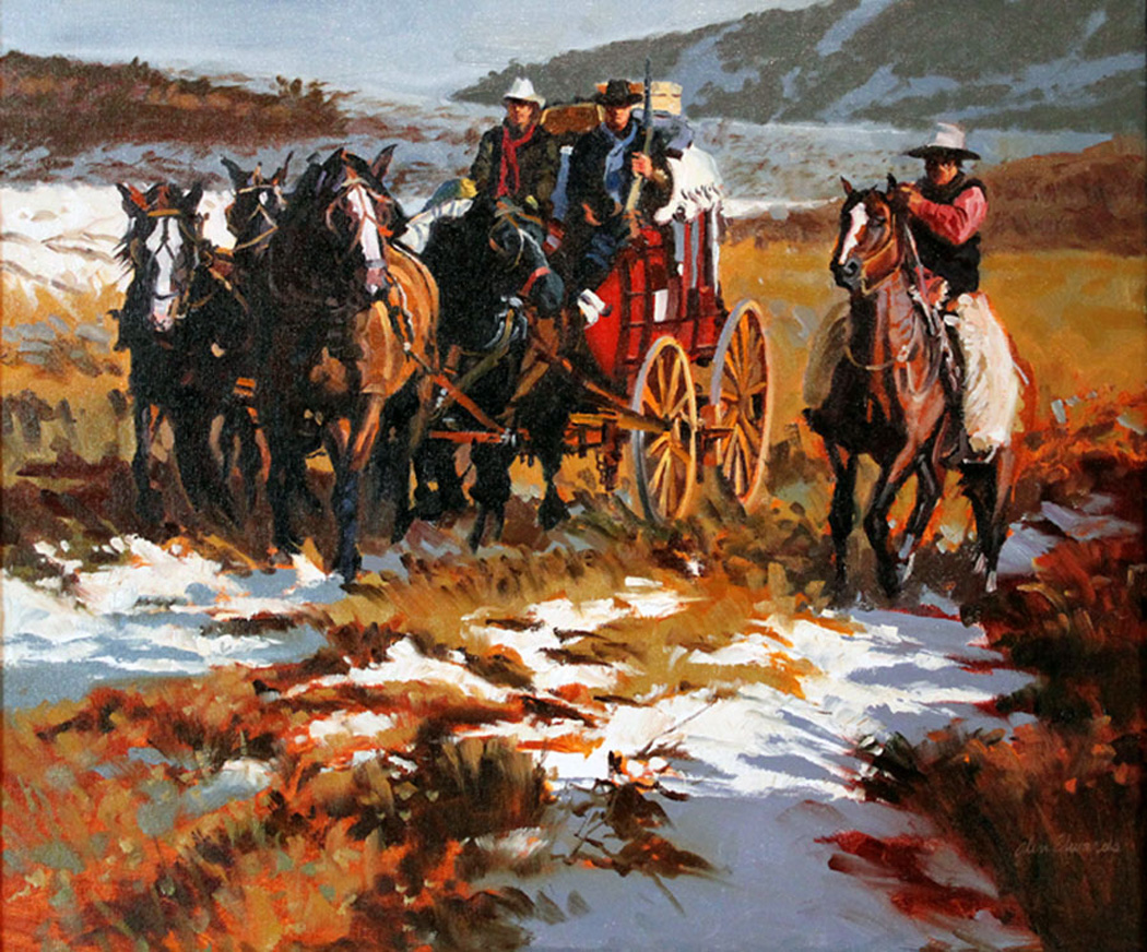 SOLD- Early Snow by  Glen Edwards - Masterpiece Online