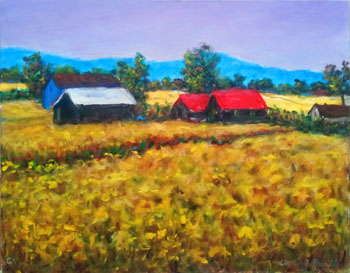 Golden Wheatfield by  Andres  Morillo - Masterpiece Online