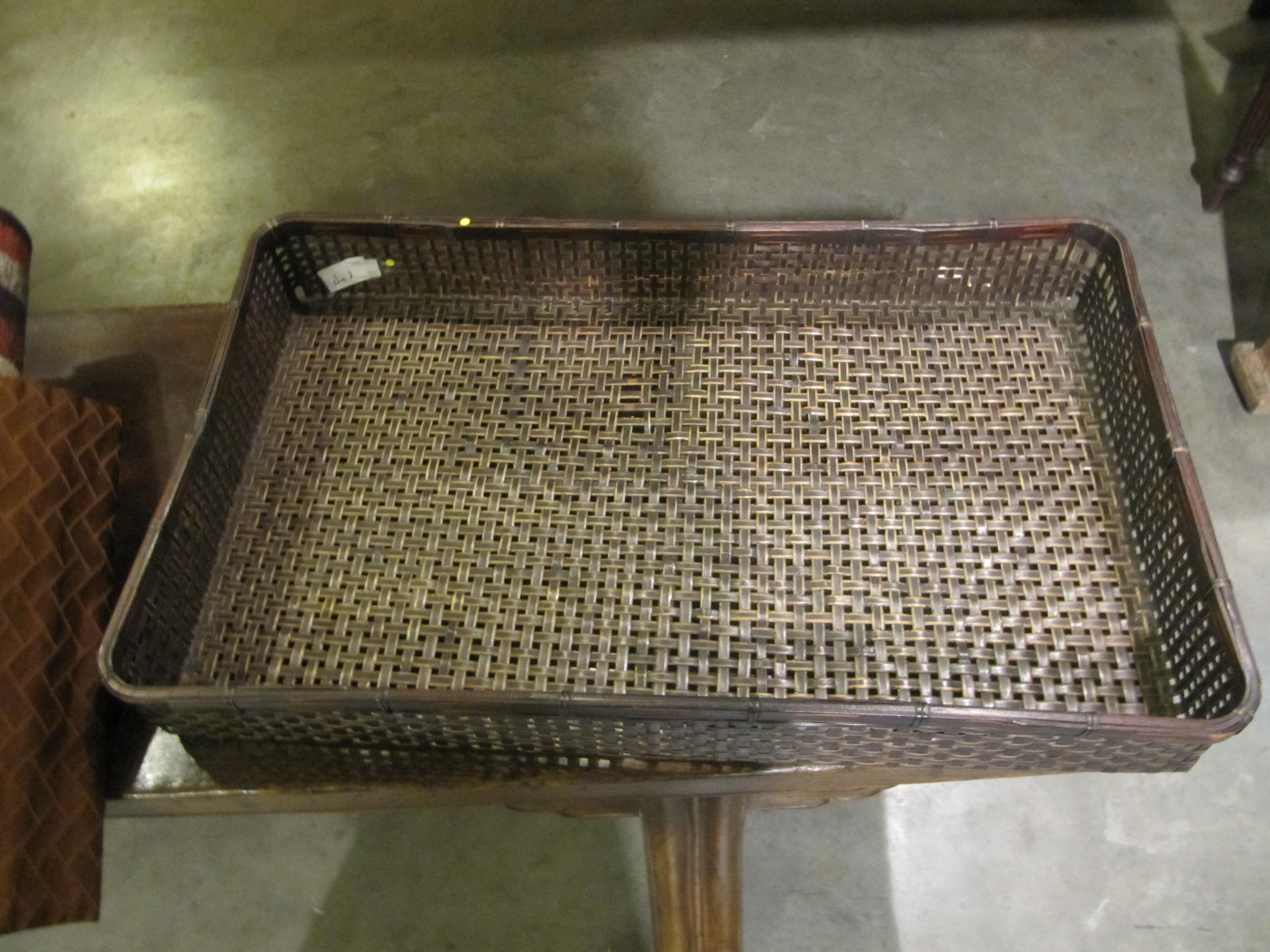 BASKET TRAY by    - Masterpiece Online