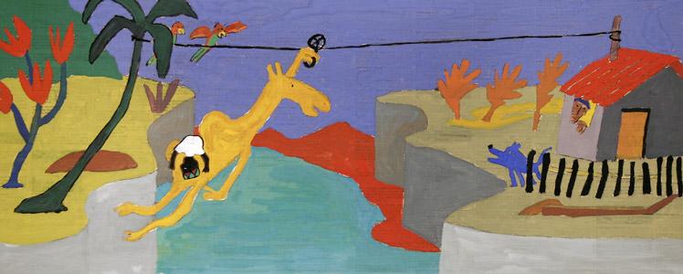 Amatole Rides Bravely by  Gilles Eduar - Masterpiece Online