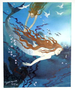 A Treasury Of Mermaids  by  Mou-Sien Tseng