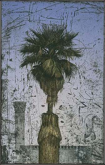 Palm Tree With Column by  David Smith-Harrison - Masterpiece Online