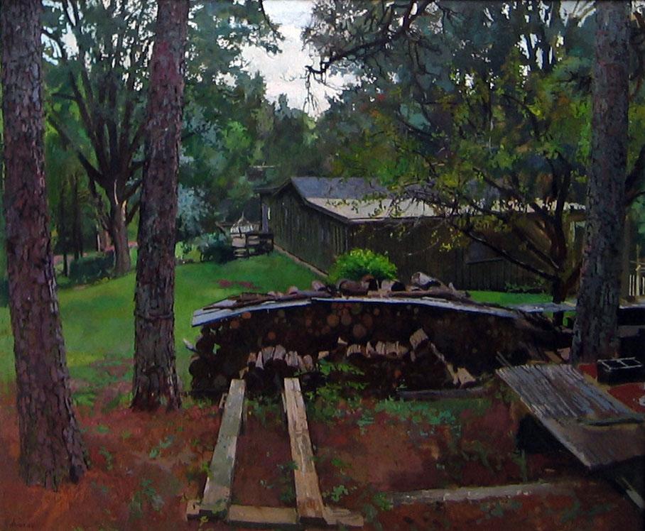 Ray's Wood Pile by  Daud Akhriev - Masterpiece Online