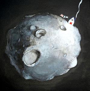 Moondog Lives Far Away by  John A. Rowe - Masterpiece Online