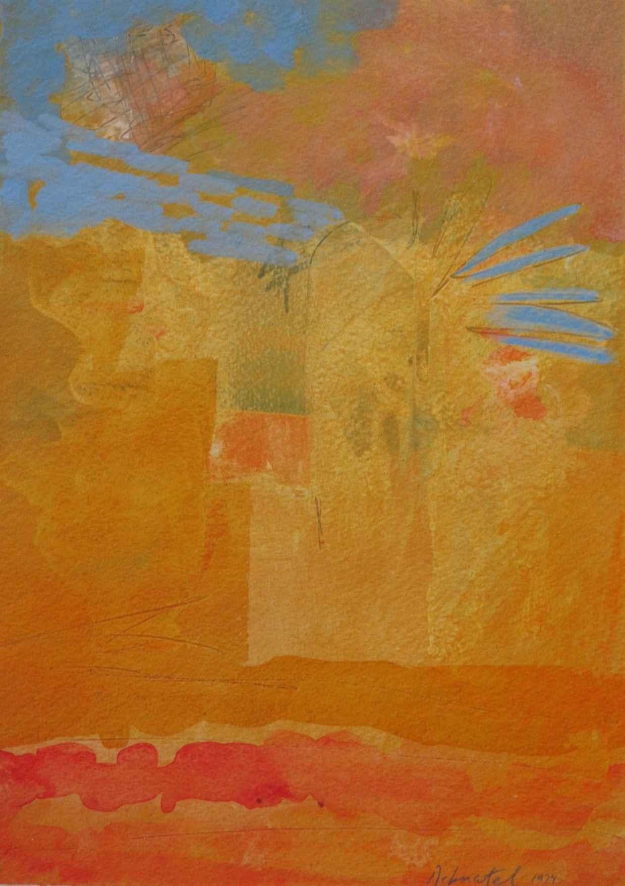 Untitled ( abstract) by  Drake Deknatel - Masterpiece Online