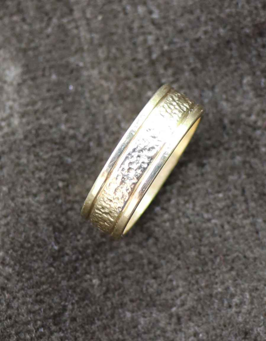 Gold Band Ring by Mr. Bo Joe - Masterpiece Online