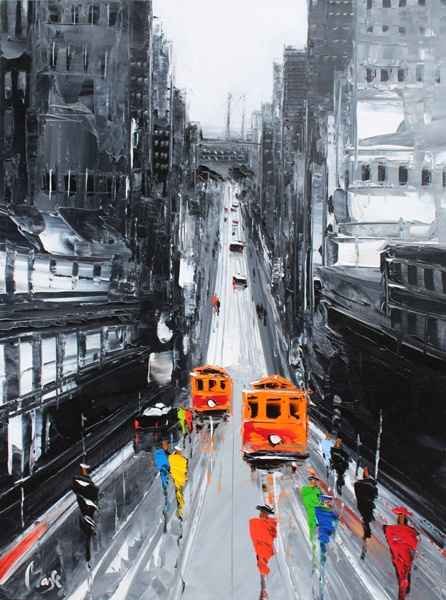 California Street by  Louis  Magre - Masterpiece Online