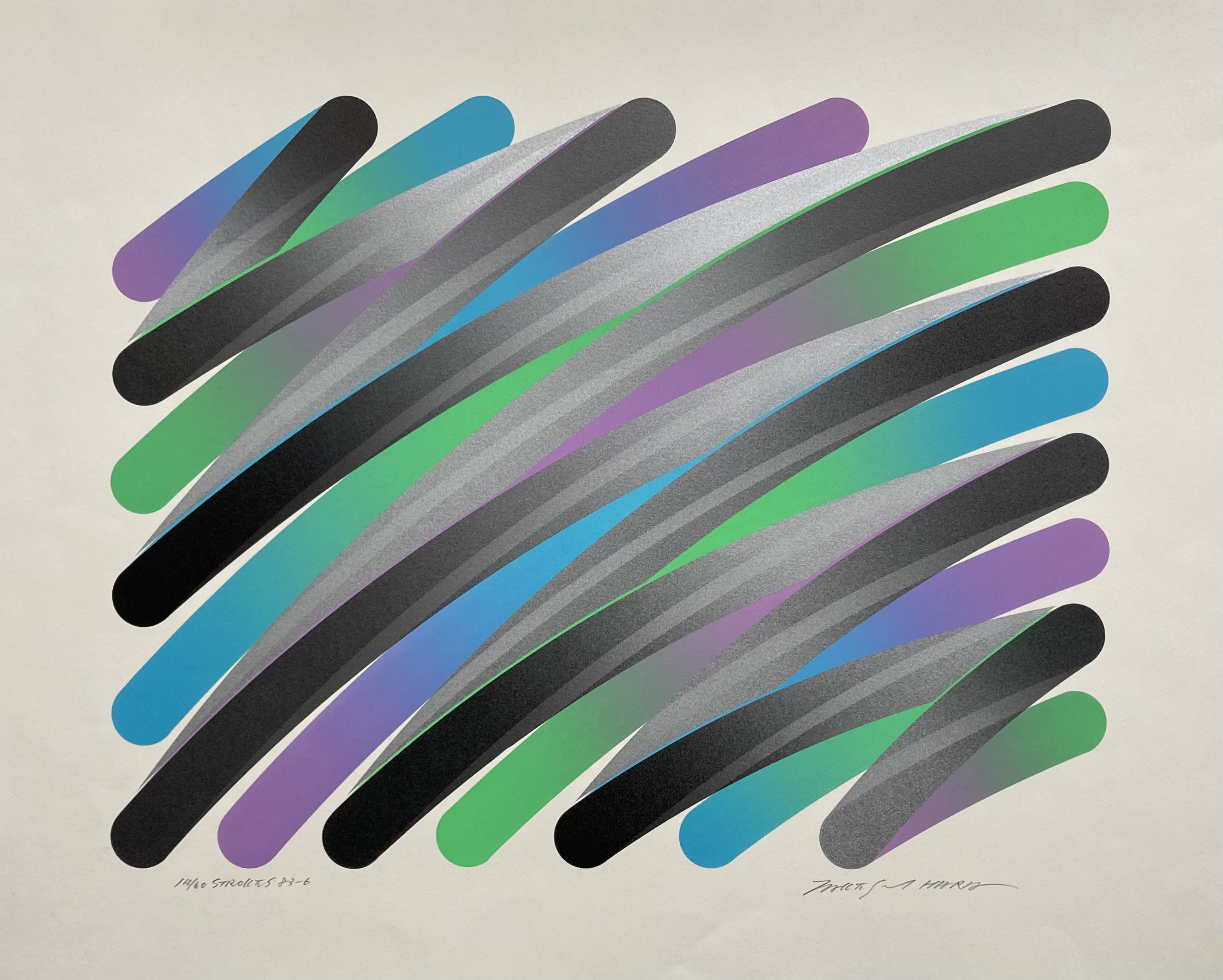 Strokes 83-6 by  Takeshi Hara - Masterpiece Online