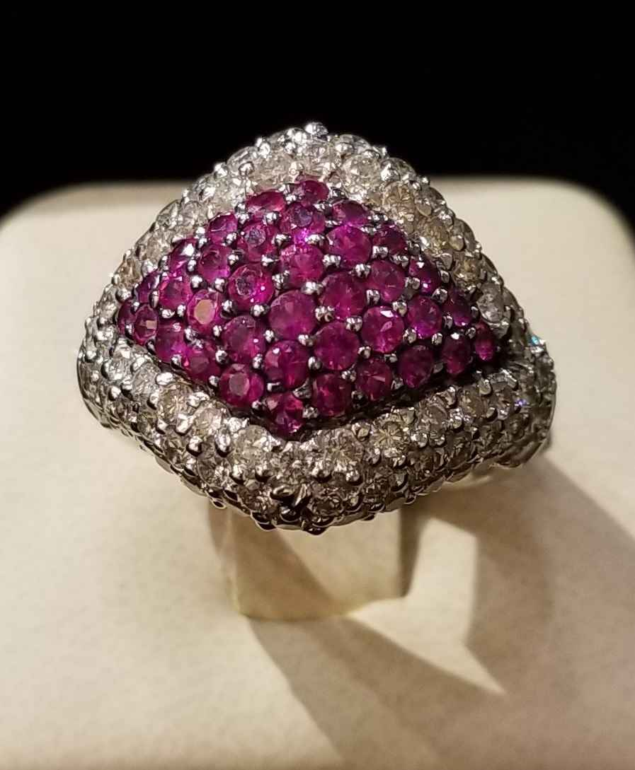 Pink Sapphire Ring - ... by  My Jeweler - Masterpiece Online