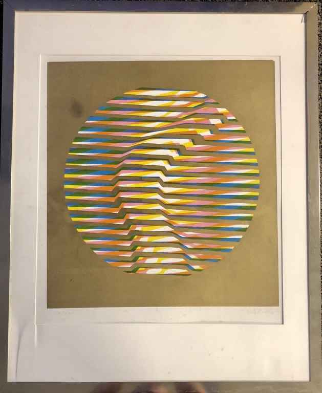 Goldfoil by  Victor Vasarely - Masterpiece Online