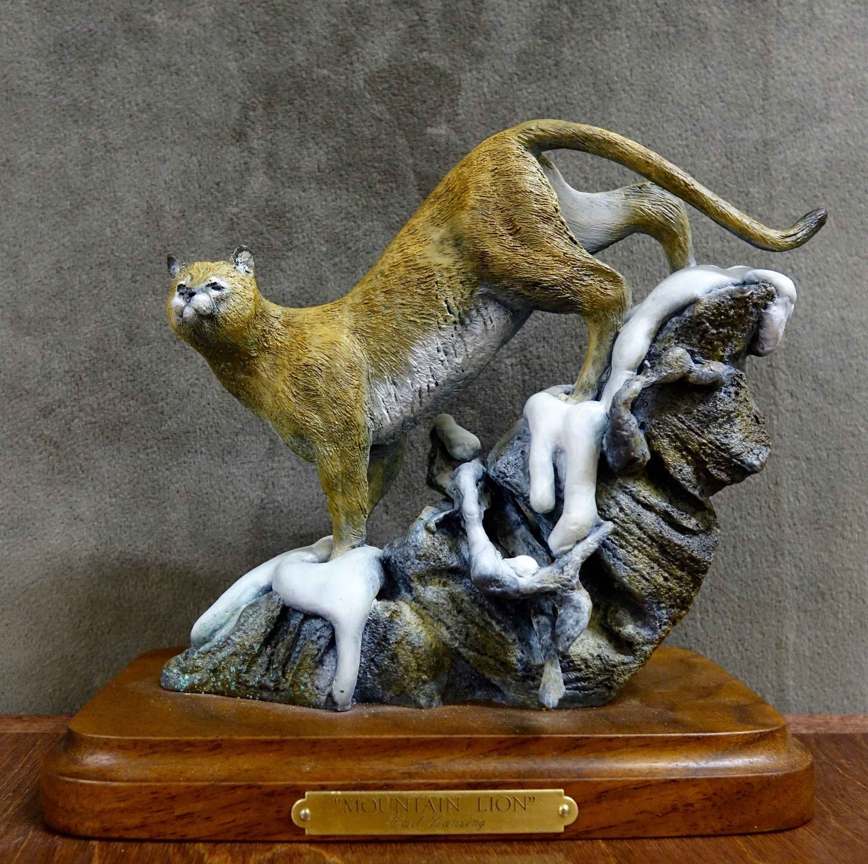 Mini's-Mountain Lion ... by  Karl Lansing - Masterpiece Online