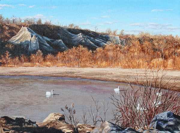 Evening at the Bluffs by   Teresa  Wheeler - Masterpiece Online