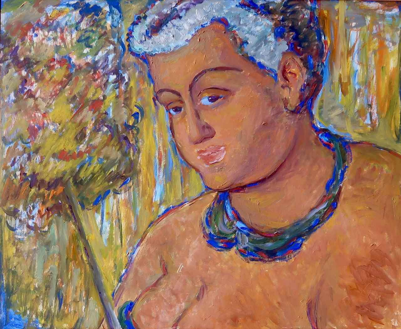 Portrait of Ka'ahumanu by  Madge Tennent (1889-1972) - Masterpiece Online