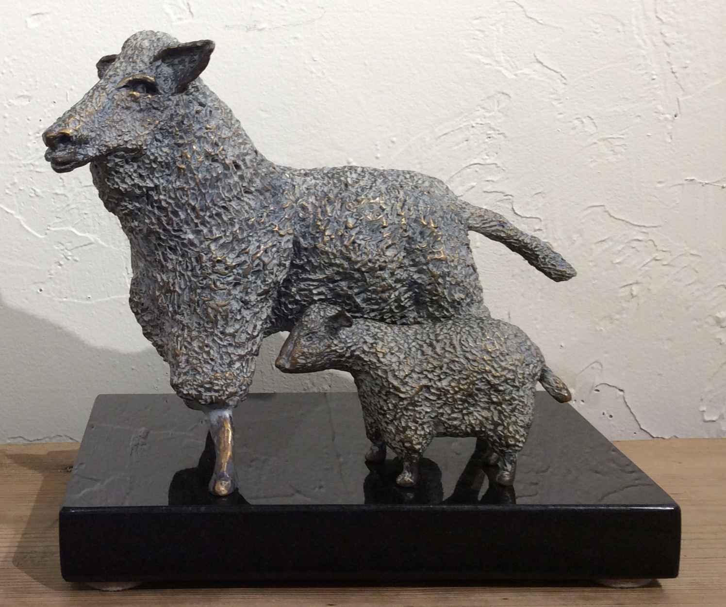Sheep & Lamb by  Don Wilks - Masterpiece Online
