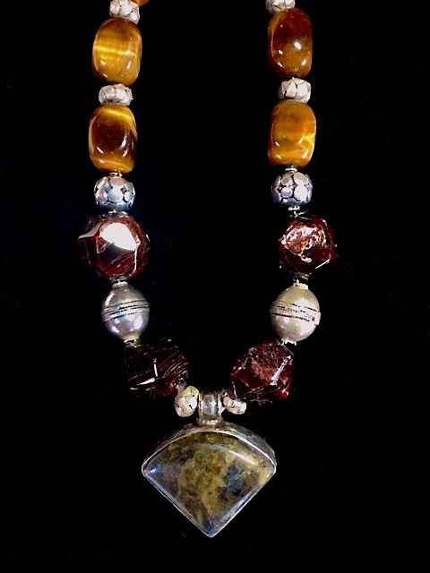 Tibetan Healing Penda... by  Crystal Gypsy Designs - Masterpiece Online