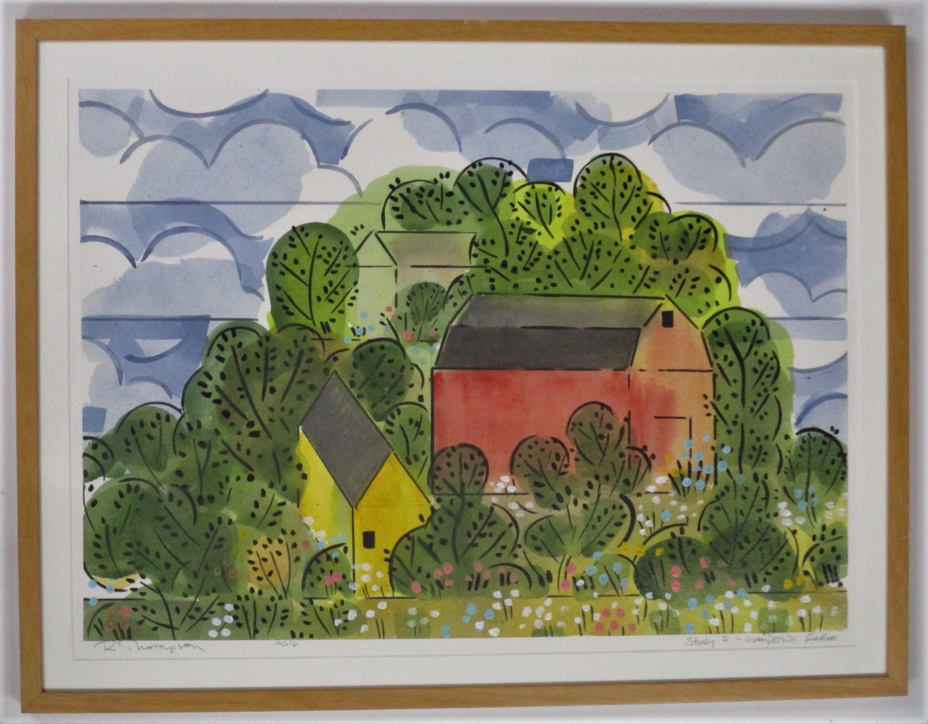 Study 2- Overgrown fa... by  Richard Thompson - Masterpiece Online
