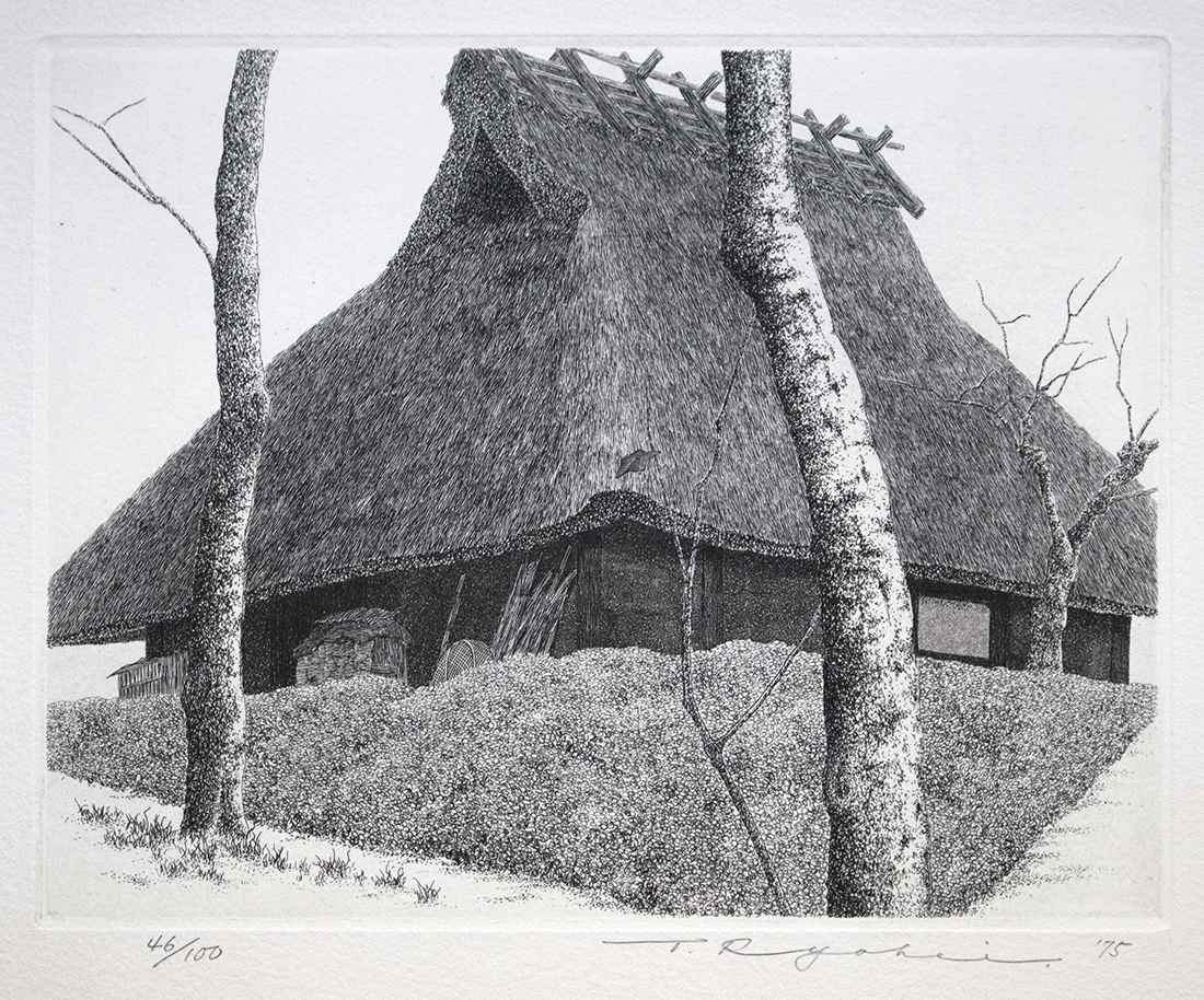 Thatched Roof No. 28 by  Ryohei Tanaka - Masterpiece Online