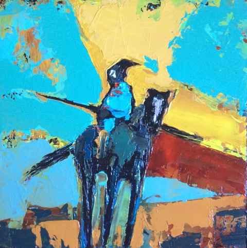 Blue Horizon by  Ray Tigerman - Masterpiece Online